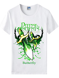 Flaming Light Cotton Lycra Men's T-shirt/World of Warcraft Wow Series Heroes T-Shirt/Butterfly Artifact 1Pc