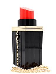 L.WEST® Women's Luxury High-grade Lipstick Acrylic Party/Evening Bag
