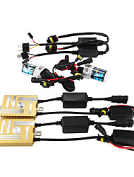 12V55W HID Ballast Decoding Headlight Conversion Kit Bulb 9005 3000K 4300K 5000K 6000K 8000K
