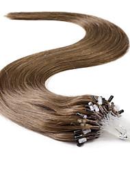 neitsi® 20inch micro anel loops de extensões de cabelo humano Anéis de cabelo humano 8 #