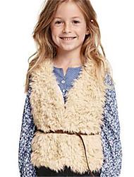 Mädchen Jacke & Mantel Baumwolle Winter Beige