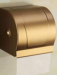 Toilet Paper Holder Brushed Wall Mounted 13*23*18cm Aluminum Contemporary