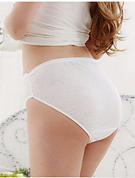 Yatemao Mujer Panties Modeladores Primavera / Verano / Otoño / Invierno Alta transpirabilidad Algodón Jacquard Boyshorts Alta cintura