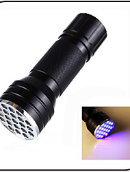 Lights LED Flashlights/Torch LED 100 lumens Lumens 1 Mode - AAA Waterproof / Ultraviolet Light / Counterfeit DetectorEveryday Use /
