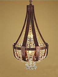 Lampe suspendue ,  Rustique Peintures Fonctionnalité for Style mini MétalSalle de séjour Chambre à coucher Salle à manger Bureau/Bureau