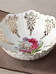 1 pcs Ceramic Bowl for Decoration Afternoon Tea