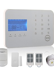 433MHz Wireless Keyboard / SMS / Phone 433MHz GSM / TELEPHONE Learning Code Home Alarm Systems