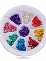 1wheel Metal Chains 3d Nail Art Decorations