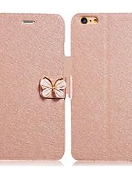 o novo stent iphone5s padrão de seda coldre iphone5 diamante borboleta sólida telefone coldre