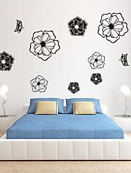 Romance / De moda / Florales Pegatinas de pared Calcomanías de Aviones para Pared,PVC S:30*55cm/ M:42*75cm/ L:55*99cm
