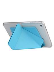 Smart Cover pour Apple iPad 6 transformateur cas à puce pour ipad mini-3/2/1 tpu étui en cuir avec support funtion