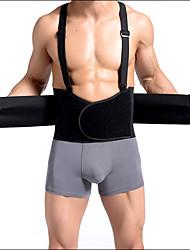 Shaperdiva Men's Slimming Abdomen Belt Body Shaper Waist Trainer With Adjustable Straps