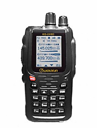 Wouxun kg-uv8d 1700mAh Dual-Band-134-174 / 400-480 MHz 999ch Zweiwege-Funk wiederholen