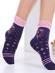 Socks Women BONAS Brand 2016 Fashion Autumn Winter High Quality Printing Leisure Women'S Socks