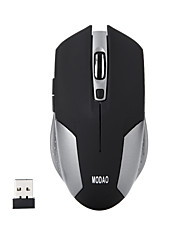 Ergonomic 6 Keys Silent 2.4G Wireless Optical Gaming Mouse 1600DPI