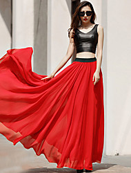 VERRAGEE The New Spring Of 2016 Long Chiffon Skirts  Chiffon skirts