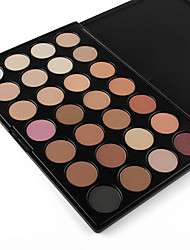 28 Lidschattenpalette Trocken / Matt / Schimmer Lidschatten-Palette Puder NormalSmokey Makeup / Alltag Make-up / Party Make-up / Cateye