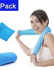 2 paquete de deportes de toallas de alivio de refrigeración
