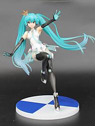 Vocaloid Hatsune Miku PVC One Size Figuras de Ação Anime modelo Brinquedos boneca Toy