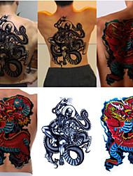 Temporary Tattoo (Full Back) - Dragon(2PCS)