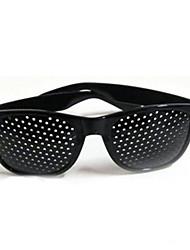 cuidado de la visión de la vista de la moda visión estenopeica mejorar corrección gafas estenopeicas