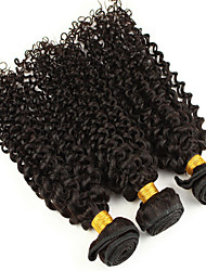 Mix 3Bundles 8-26inch Brazilian Virgin Hair Deep Curly Color 1B# Unprocessed Raw Virgin Human Hair Weaves