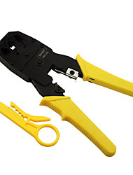 REWIN® TOOL Three-use Modular Plug Network Cable Telephone Line Crimping Pliers 4P/6P/8P Crimping Tool