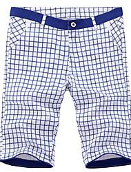 Pantaloncini Uomo Casual A quadri Cotone