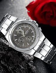 Men's Watches Fashion Crystal Strip Quartz Geneva Watch Wrist Watch Cool Watch Unique Watch