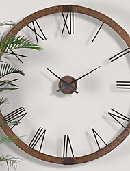 E-HOME® Metal Wall Art Wall Decor,Simple Pattern Metal  Wall Clock One PCS