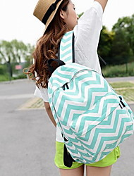 Fashion Unisex Canvas / Polyester Weekend Bag Backpack / School Bag-Multi-color