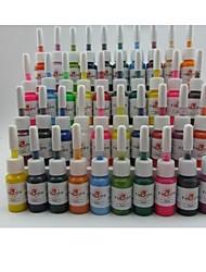 tatuagem ou maquiagem cores de tinta basekey 40 x 5ml