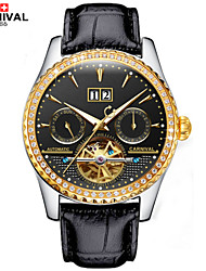 Carnival® Watches Multifunctional Hollow Automatic Mechanical Watch Is Made Of Fine Steel Luminous Men Watch Cool Watch Unique Watch