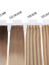 Neitsi  100% Human Hair Tape In Hair Extensions Skin Weft Straight Hair 20pcs/pack