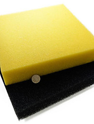 Filter Media Foam/Sponge Filter Activated Carbon Yellow