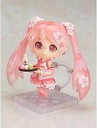 Vocaloid Sakura Miku PVC One Size Anime Action-Figuren Modell Spielzeug Puppe Spielzeug