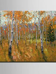 mini-pintura a óleo tamanho e-casa moderna madeira amarela mão pura desenhar pintura decorativa frameless
