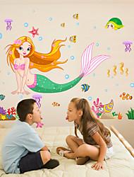 Cartoon Design Wand-Sticker Flugzeug-Wand Sticker,PVC 50X70X0.1