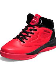 Sapatos Masculinos-Tênis Social / Sapatos para Esportes-Preto / Azul / Vermelho-Couro Envernizado / Courino-Casual / Para Esporte