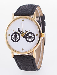 Women's European Style Fashion Printing Simple Bike Wrist Watch Cool Watches Unique Watches