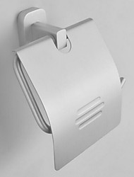 Toilet Paper Holder Anodizing Wall Mounted 13*23*18cm Aluminum Contemporary