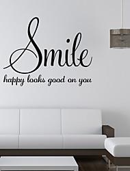 Slova a citáty Samolepky na zeď Samolepky na stěnu,vinyl 58*45cm