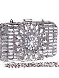 L.WEST® Women's Glass Drill Diamonds Party/Evening Bag