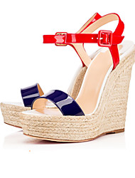 Women's High Heels Shoes  Wedge Heel Sandals /  Sandals Office & Career / Party & Evening / Dress Pumps
