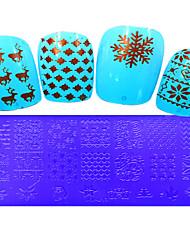 1pcs  Stamping Plates Nail Art Templates DIY Image Nail Art Tools XY-L11-15