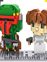 Loz Princess Leia And Fett Loz Diamond Blocks Block Toys DIY Toys (200280 Pcs)