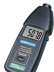 SAMPO DT2234B Blue for Tachometer  Flash Frequency Instrument