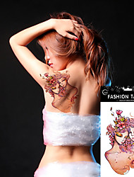 Halloween 5Pcs 12 Different Constellation Tattoo Designs  Arm Shoulder Body Art Temporary Tattoo Stickers