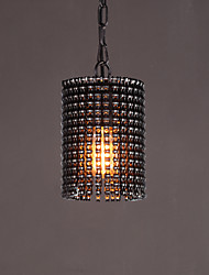 Modern Vintage Industrial Pendant Lights Loft Metal Black Rustic Cafe Restaurant Kitchen Light Fixture