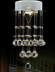 LightMyself 35W Modern/Contemporary Crystal / Mini Style Chrome Crystal Pendant Lights Bedroom / Kitchen / Study